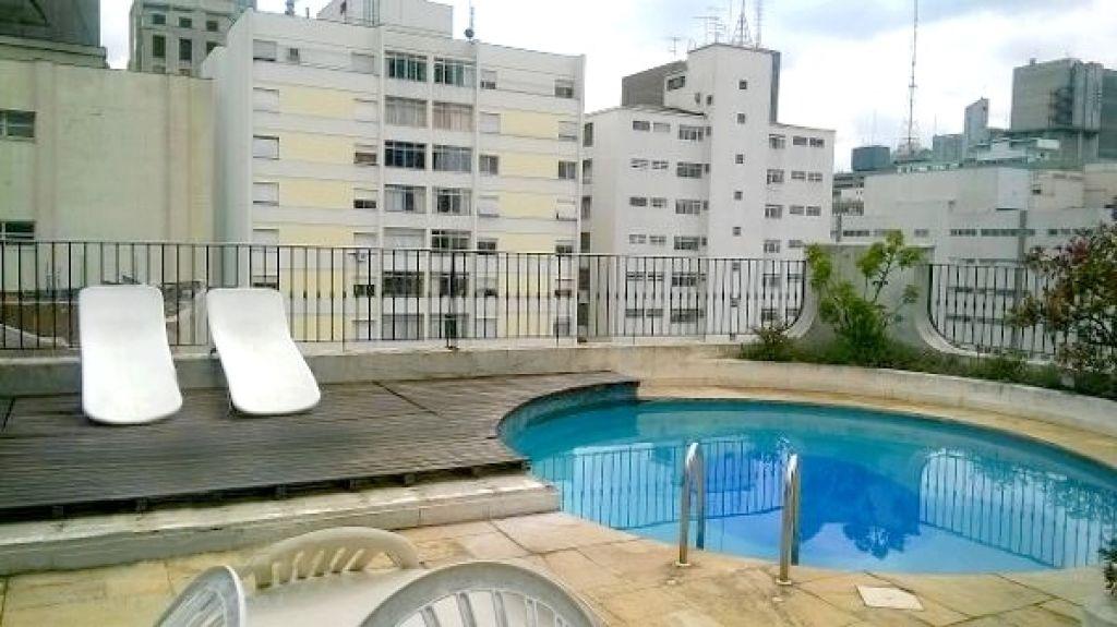 Flat de 1 dormitório à venda em Jardins, São Paulo - SP