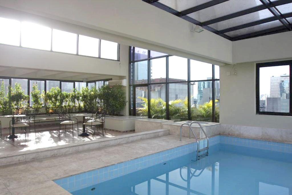 Flat de 1 dormitório à venda em Brooklin Paulista, São Paulo - SP
