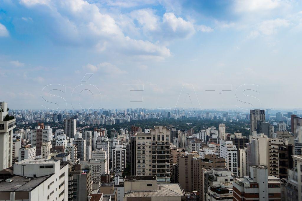 Flat de 2 dormitórios em Jardins, São Paulo - SP