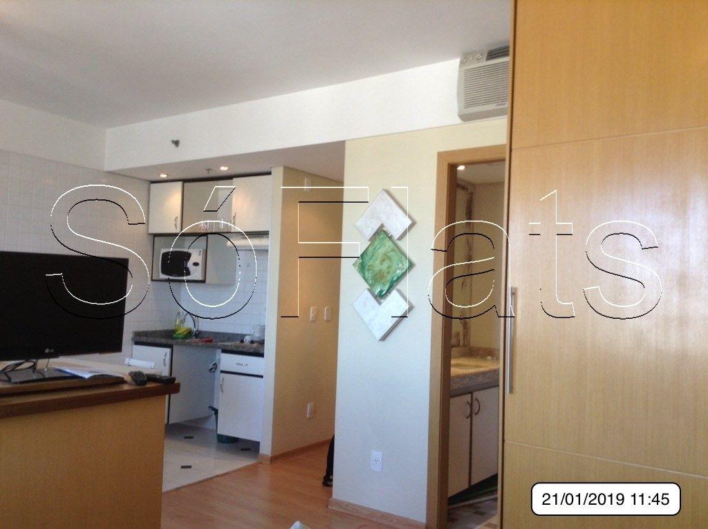 Flat de 1 dormitório em Alphaville Industrial, Barueri - SP