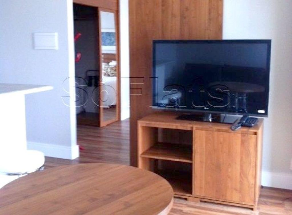 Flat de 2 dormitórios em Itaim Bibi, São Paulo - SP