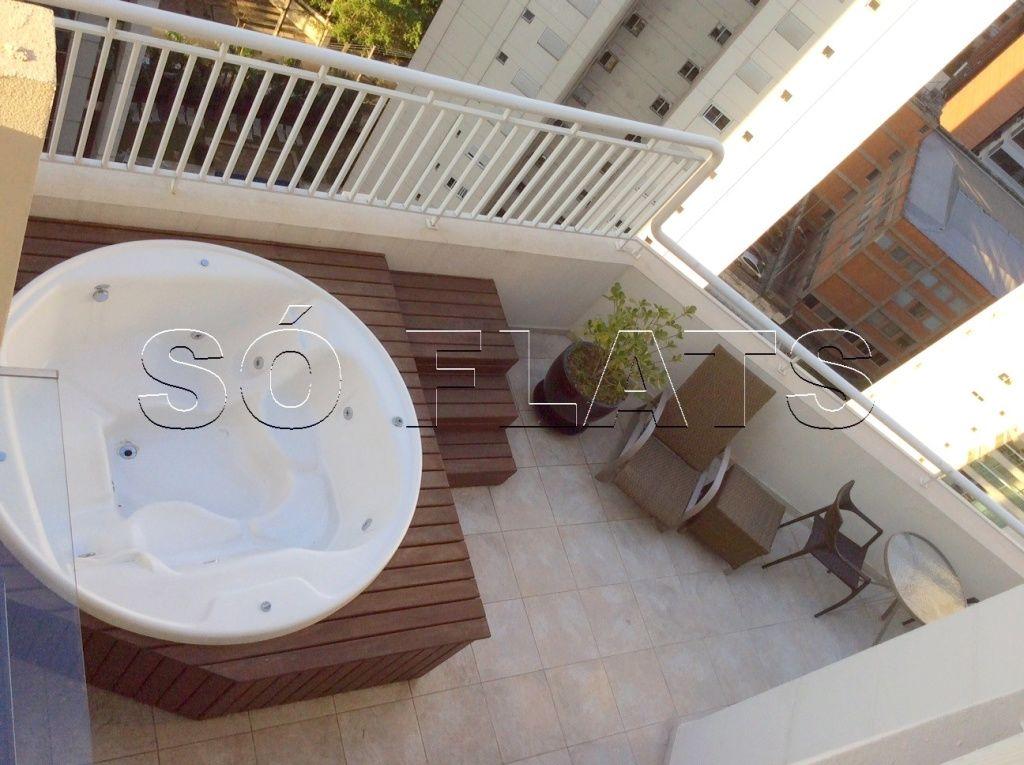 Flat de 3 dormitórios em Vila Olímpia, São Paulo - SP