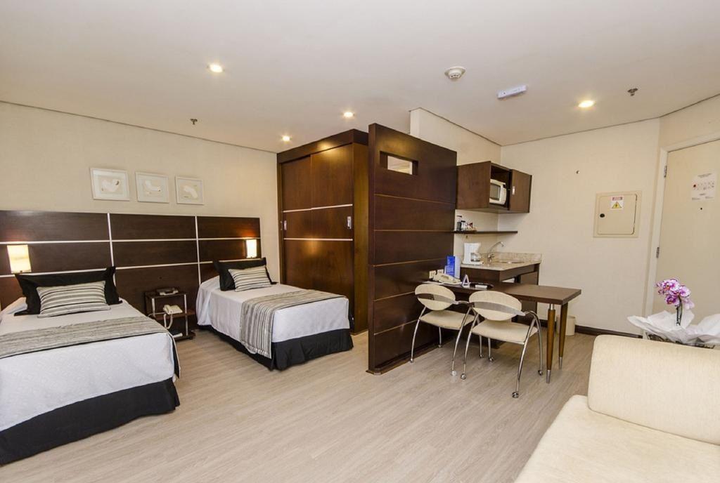 Flat de 1 dormitório em Chácara Santo Antônio, São Paulo - SP