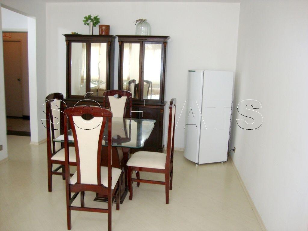 Flat de 2 dormitórios à venda em Higienópolis, São Paulo - SP