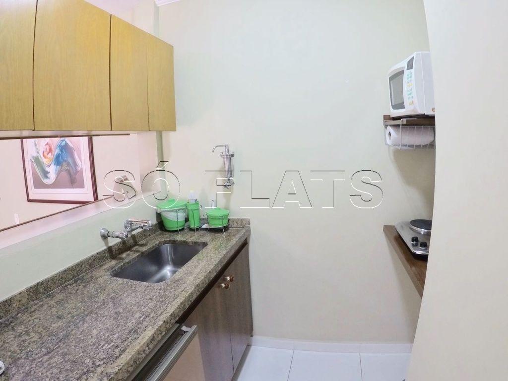Flat de 2 dormitórios em Cerqueira César, São Paulo - SP