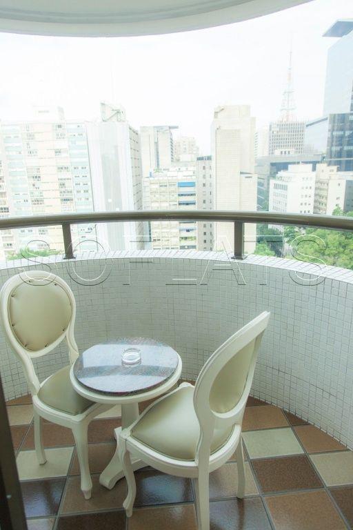 Flat de 1 dormitório em Bela Vista, São Paulo - SP
