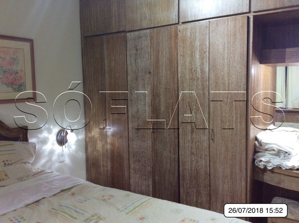Flat de 1 dormitório em Jardim Paulista, São Paulo - SP