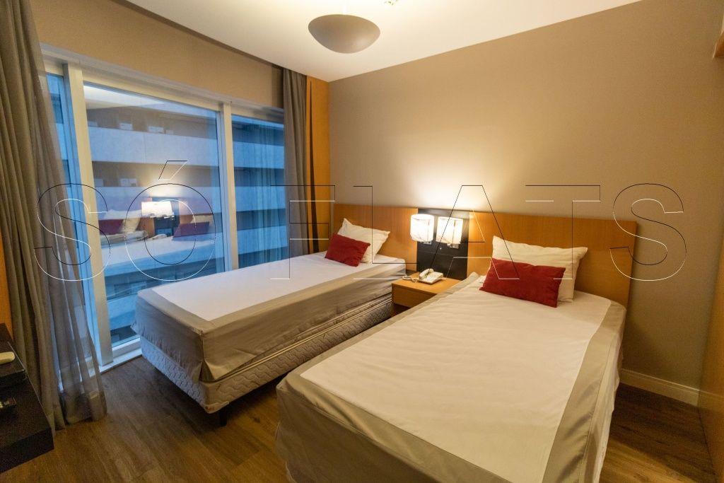 Flat de 1 dormitório em Jardins, São Paulo - SP