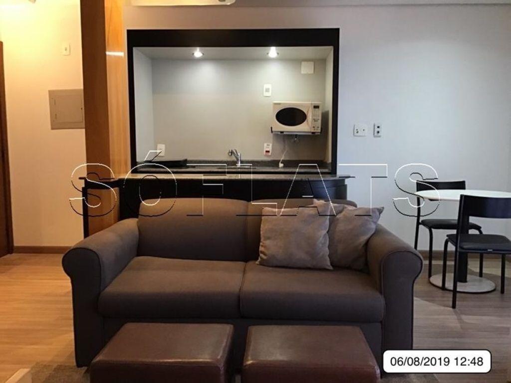Flat de 1 dormitório à venda em Itaim, São Paulo - SP