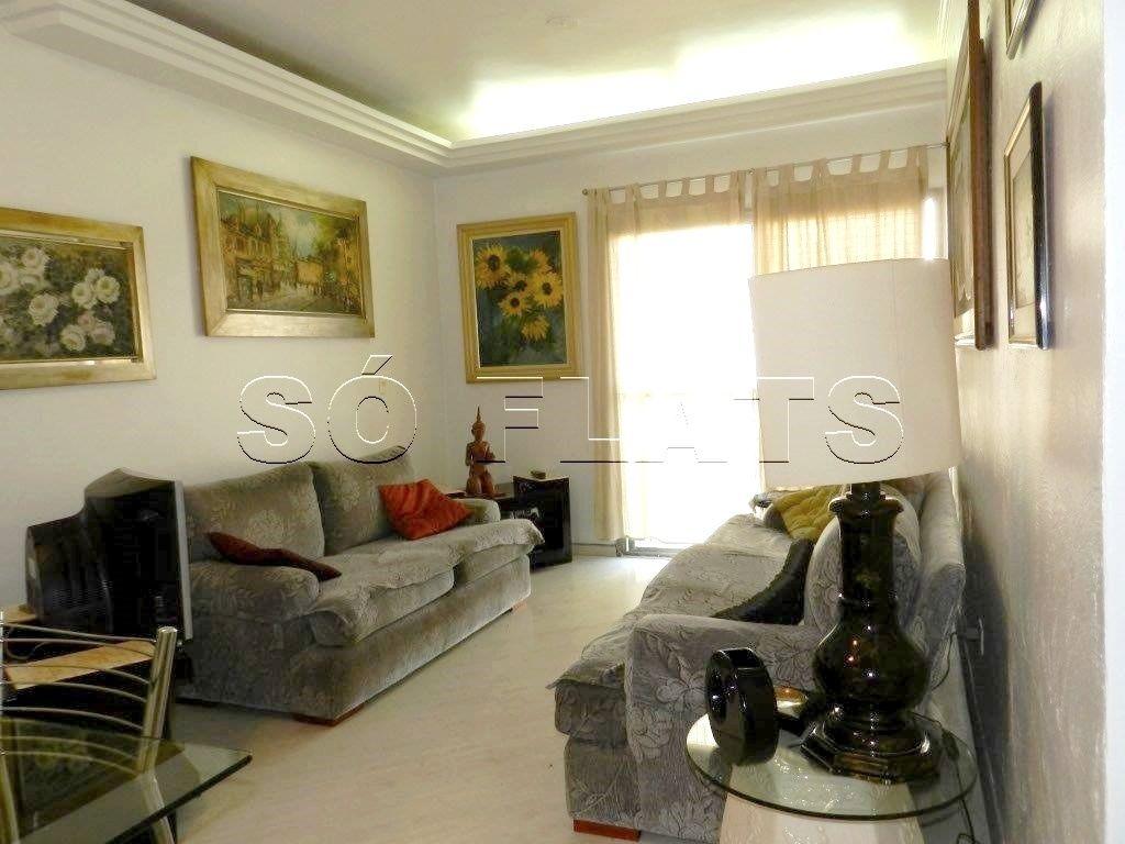 Flat de 1 dormitório à venda em Vila Olímpia, São Paulo - SP