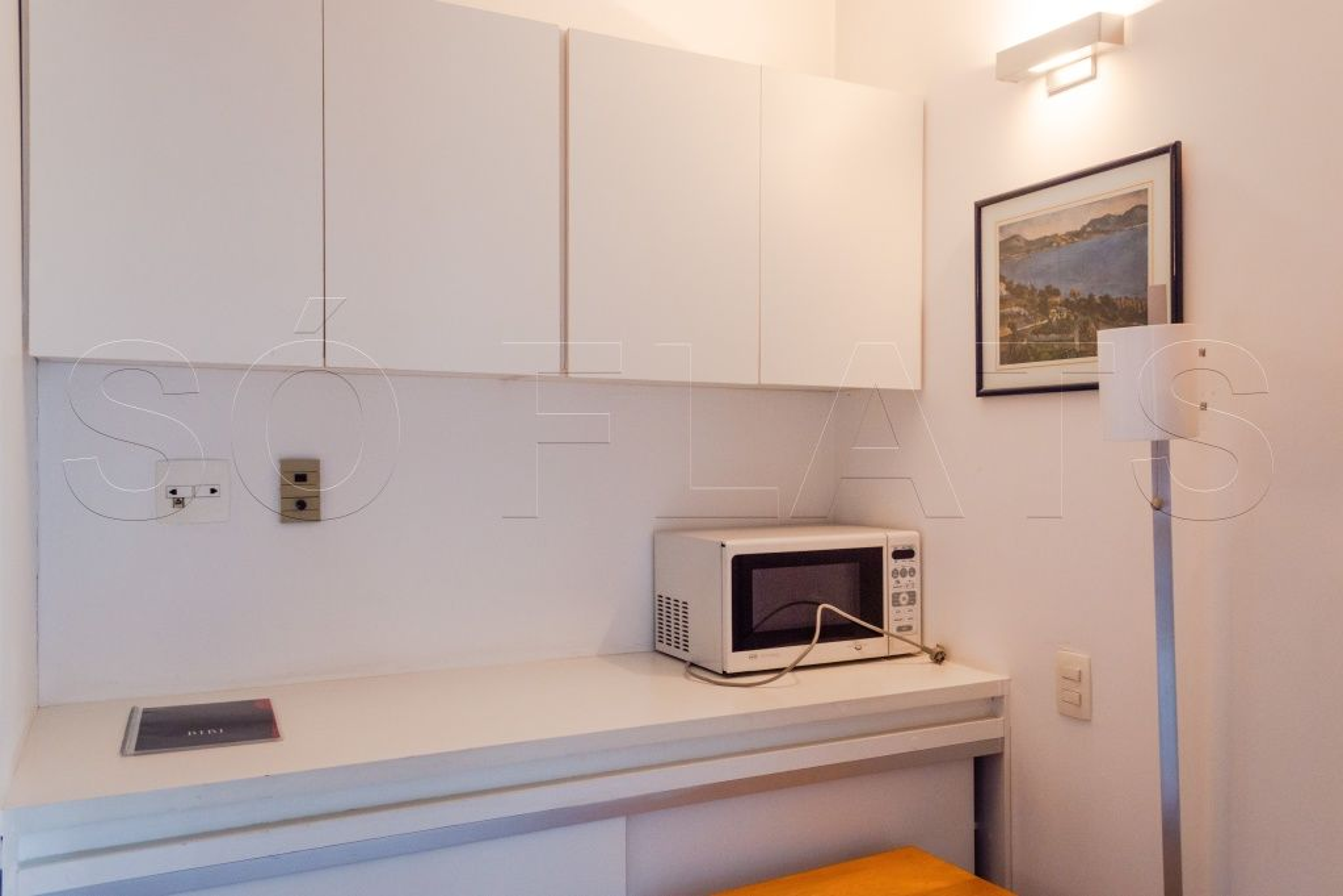 Flat de 1 dormitório à venda em Jardim Europa, São Paulo - SP