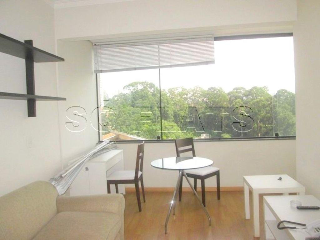 Flat de 1 dormitório em Paraíso Do Morumbi, São Paulo - SP