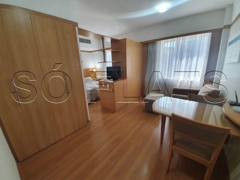 Flat de 1 dormitório em Cerqueira César, São Paulo - SP