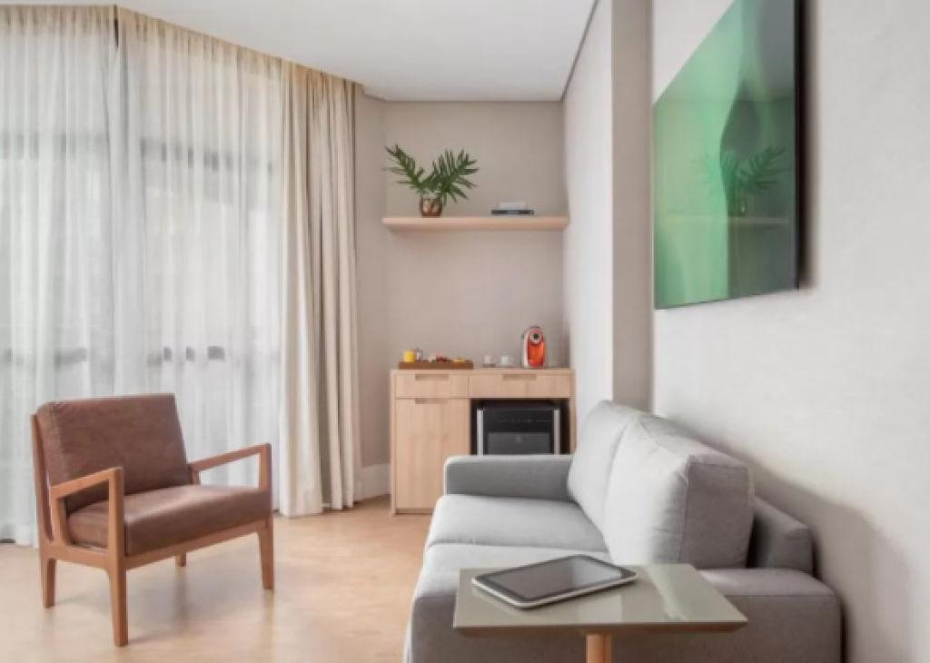 Flat de 1 dormitório em Jardim Europa, São Paulo - SP