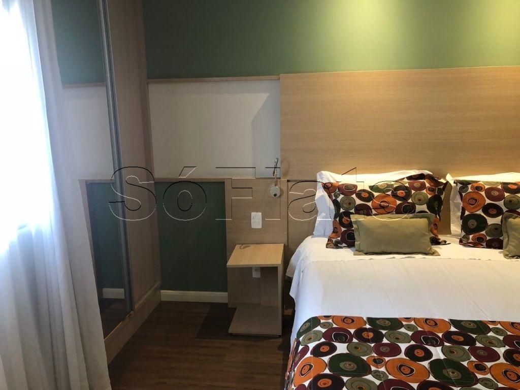 Flat de 1 dormitório à venda em Chácara Santo Antônio, São Paulo - SP