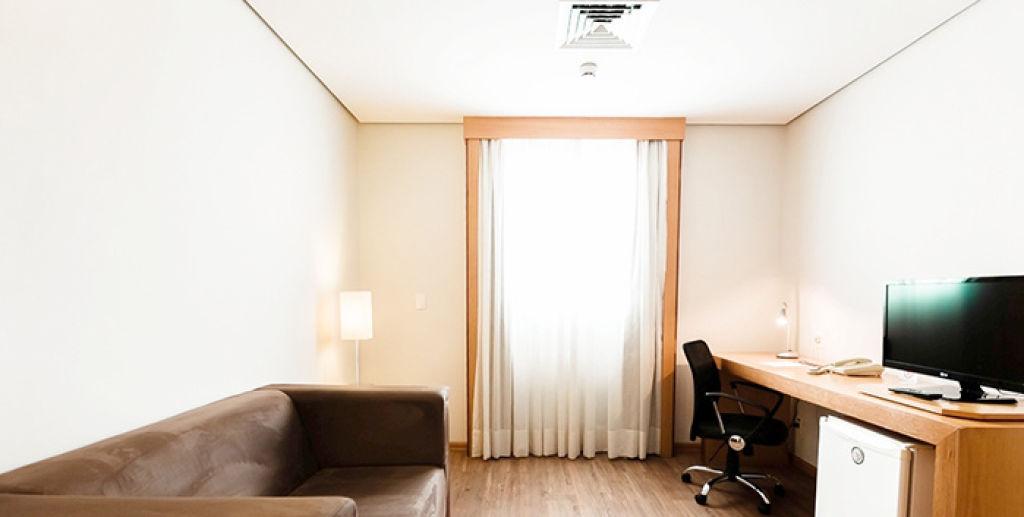 Flat de 1 dormitório em Centro, Santo André - SP
