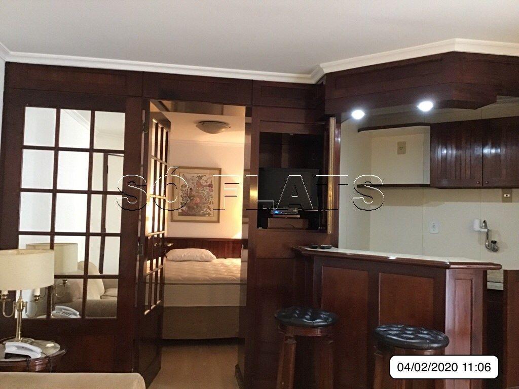 Flat de 1 dormitório à venda em Higienópolis, São Paulo - SP
