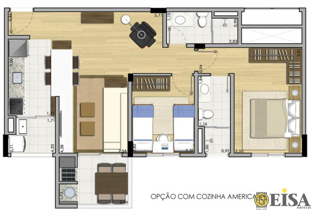 Cobertura de 2 dormitórios à venda em Casa Verde, São Paulo - SP