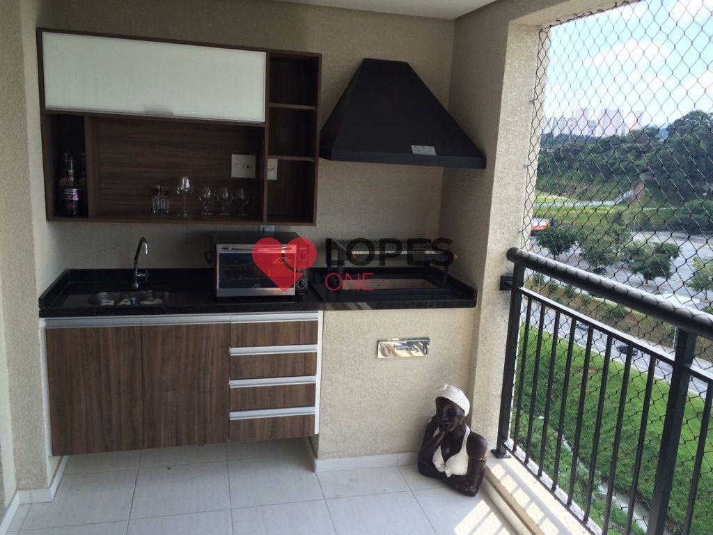 Excelente apartamento no Bosque Ventura com 03 dormitorios 01 vaga de garagem