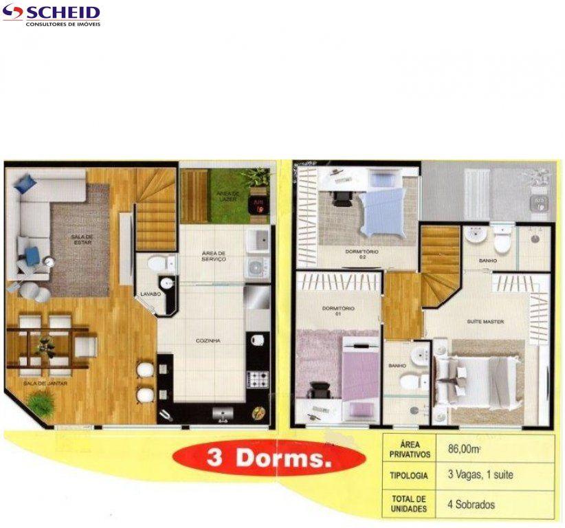 Casa de 3 dormitórios à venda em Pedreira, São Paulo - SP
