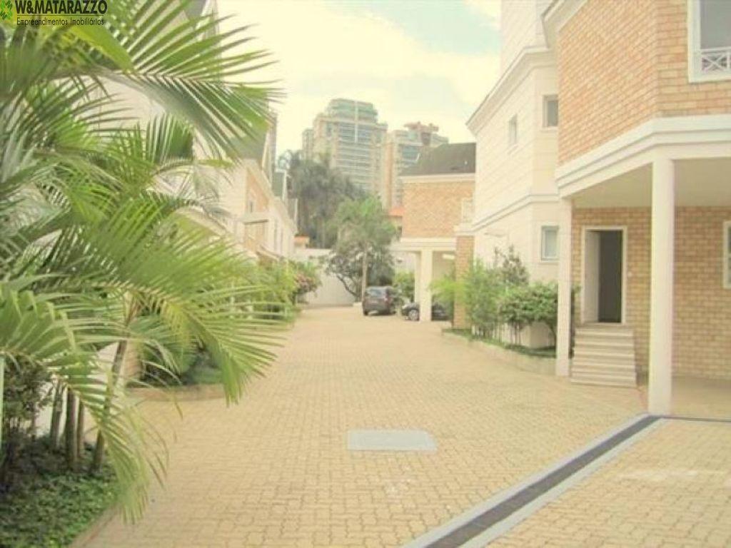 Casa de Condomínio Brooklin Paulista - Referência WL1176