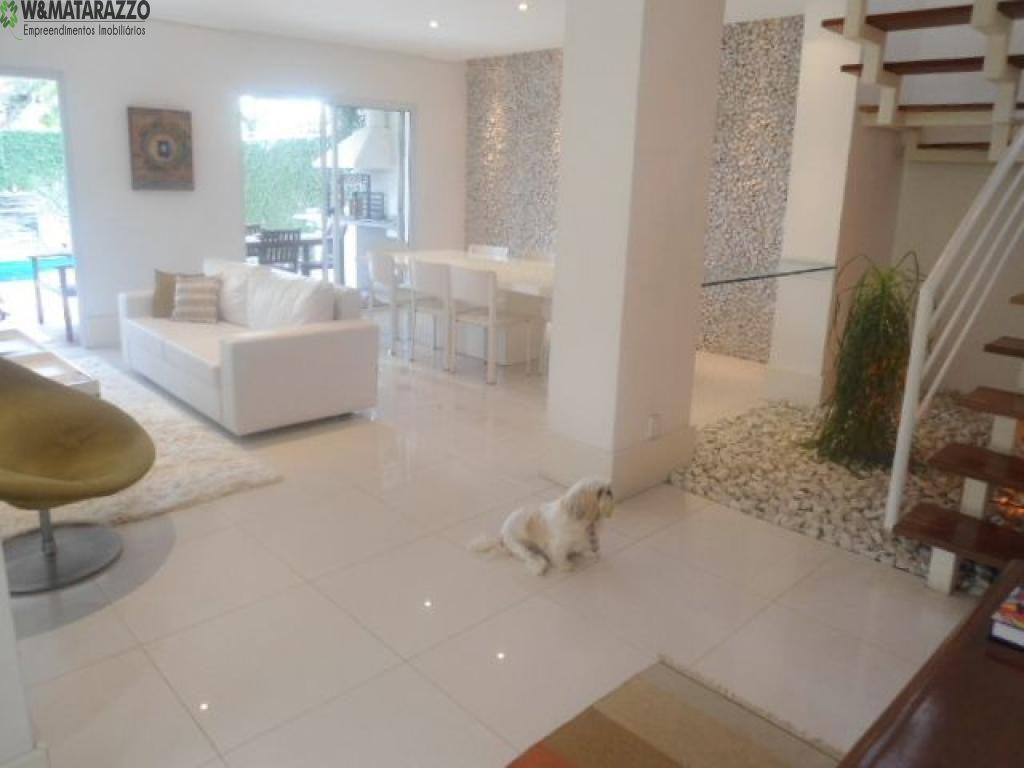 Casa de Condomínio Chácara Monte Alegre 4 dormitorios 6 banheiros 3 vagas na garagem