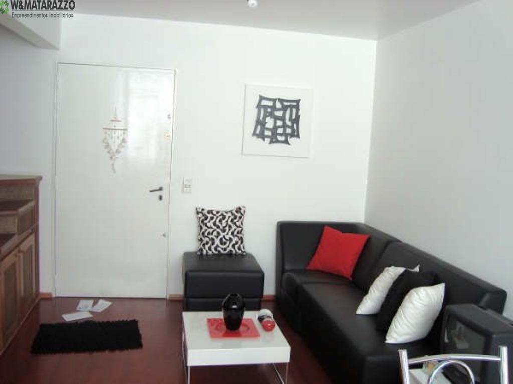 Apartamento Brooklin Paulista 2 dormitorios 3 banheiros 1 vagas na garagem