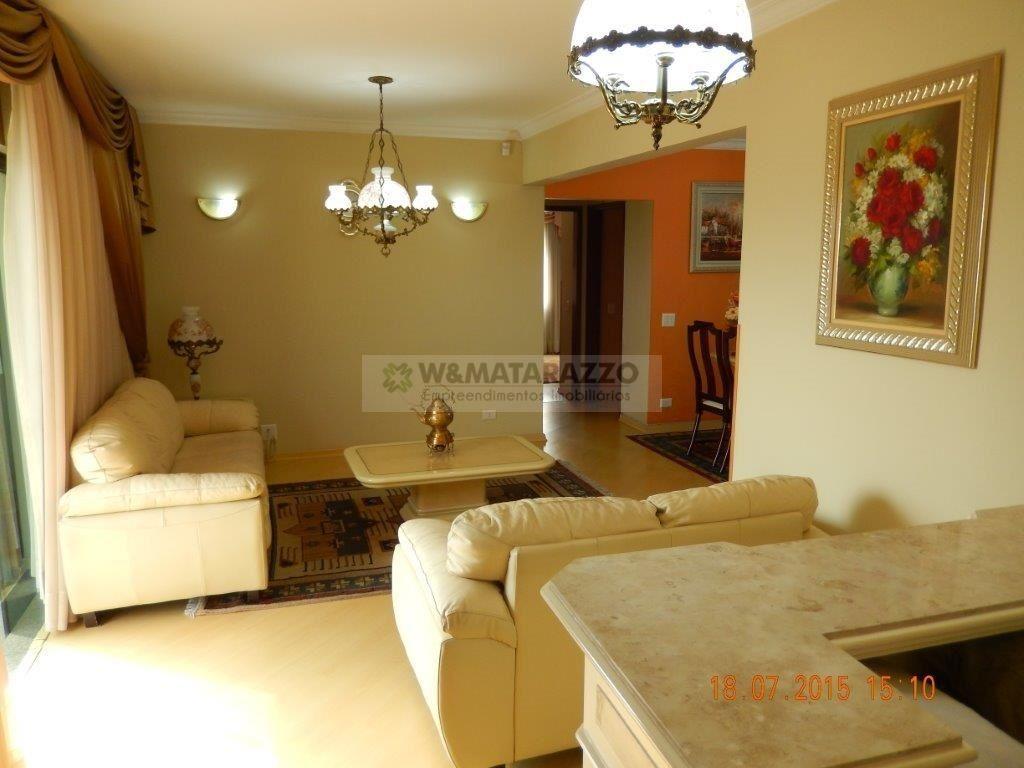 Apartamento Vila Santo Estéfano 3 dormitorios 4 banheiros 3 vagas na garagem
