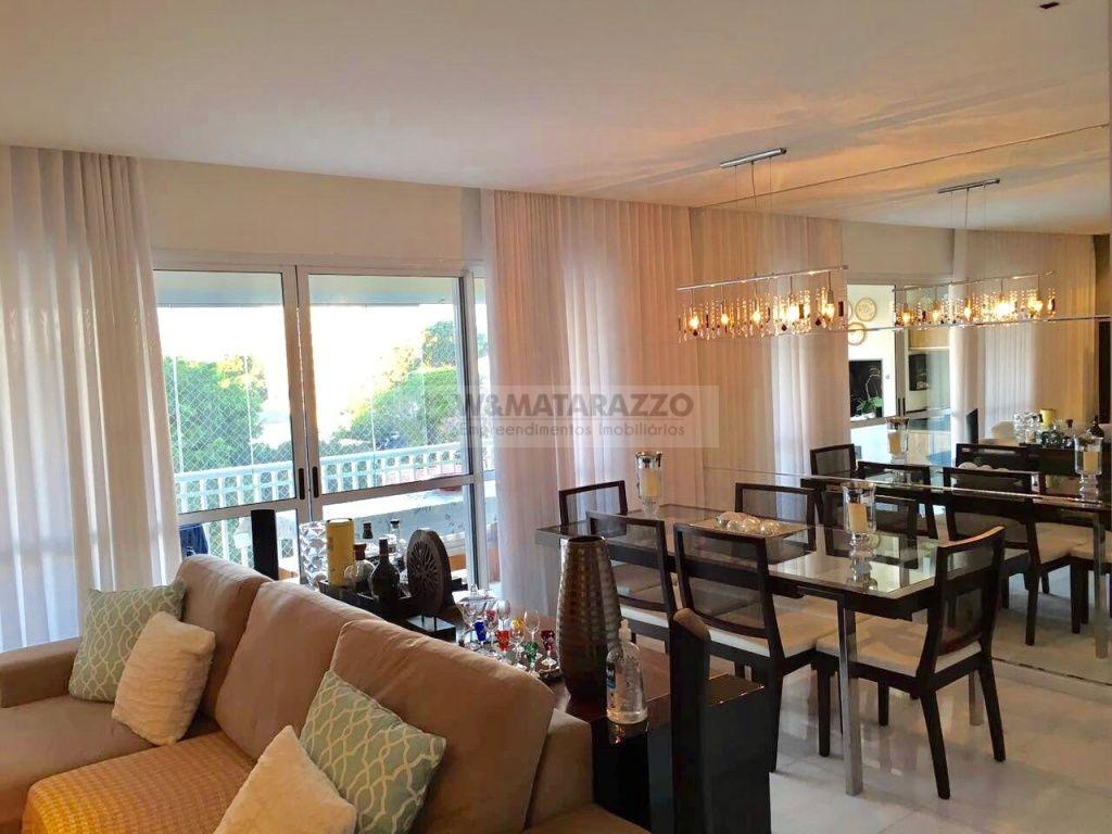 Apartamento Jardim Caravelas 3 dormitorios 3 banheiros 2 vagas na garagem