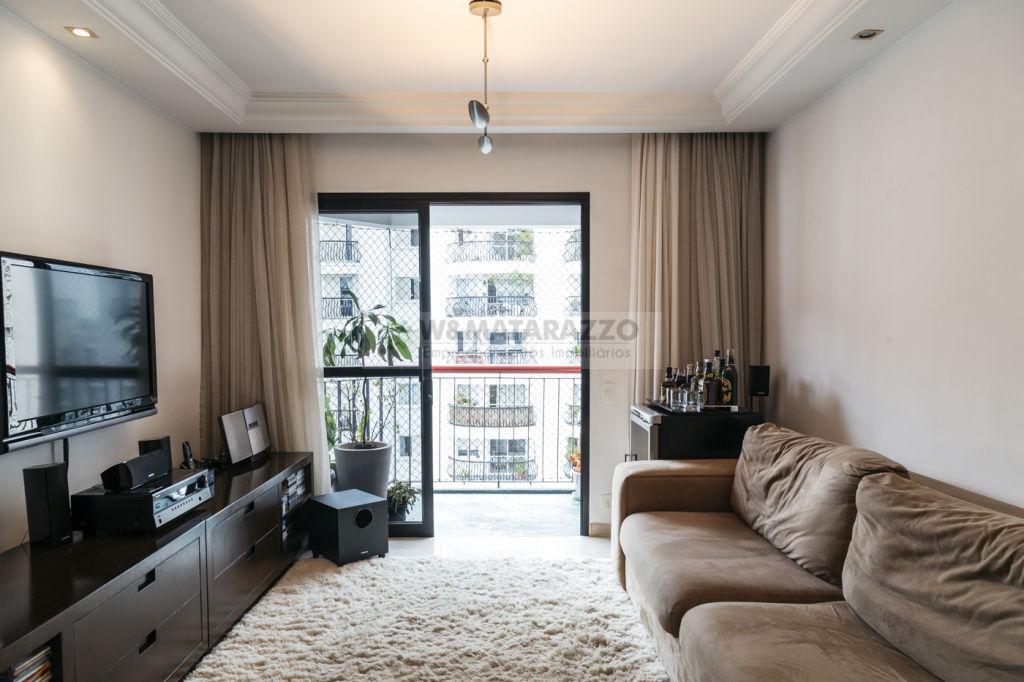 Apartamento Indianópolis 2 dormitorios 3 banheiros 2 vagas na garagem