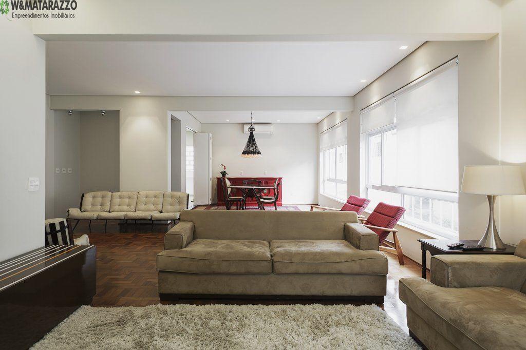 Apartamento Higienópolis 2 dormitorios 3 banheiros 1 vagas na garagem