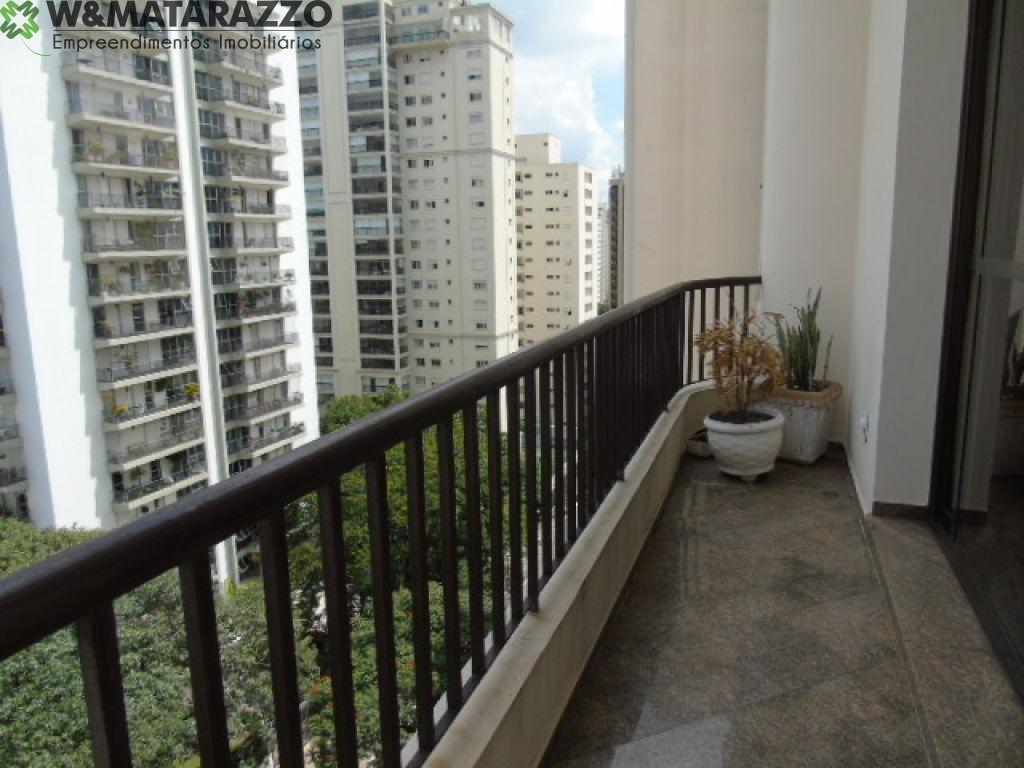 Apartamento Indianópolis 4 dormitorios 5 banheiros 3 vagas na garagem