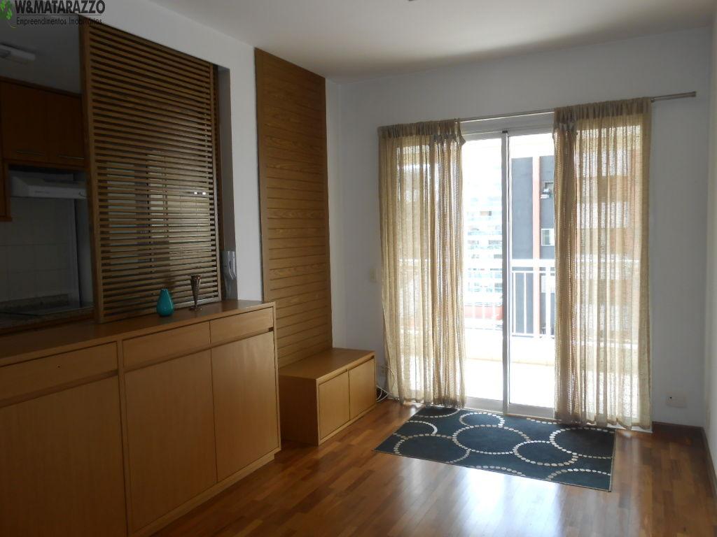 Apartamento Cidade Monções 1 dormitorios 1 banheiros 1 vagas na garagem