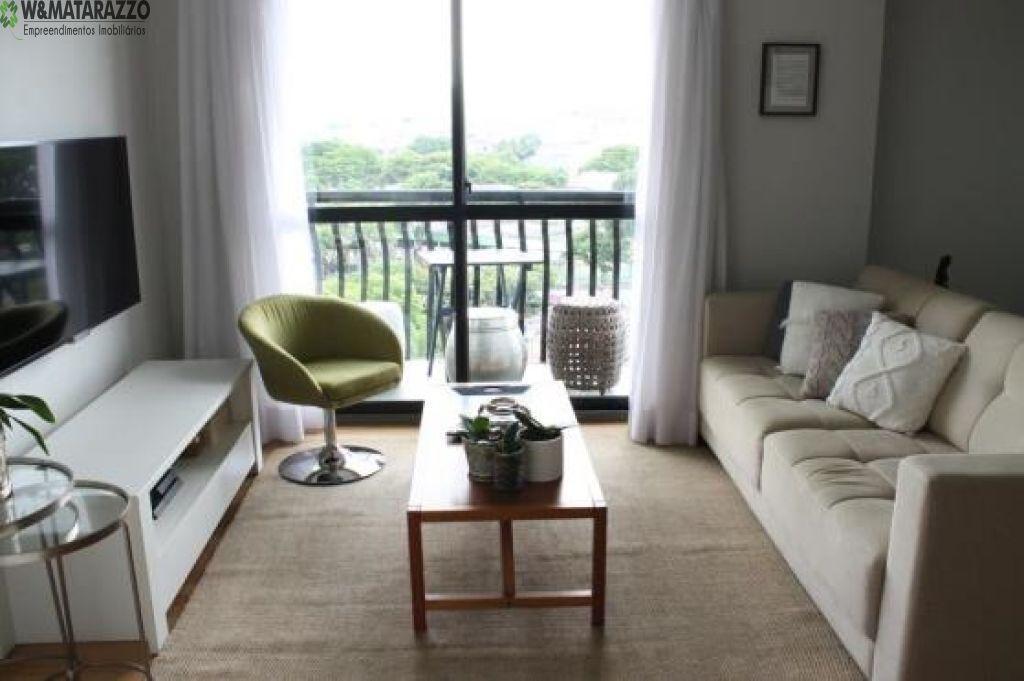 Apartamento Padrão, SANTO AMARO, 2 dormitorios, 3 banheiros,  vagas na garagem