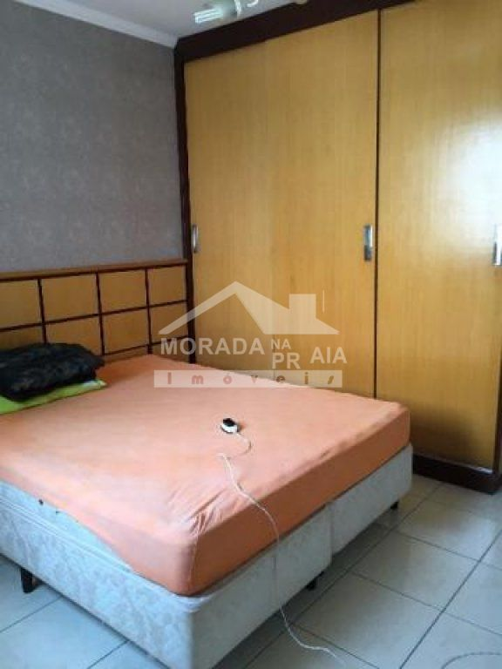 Dormitório 01 do apartamento com 3 dormitórios em CANTO DO FORTE - PRAIA GRANDE