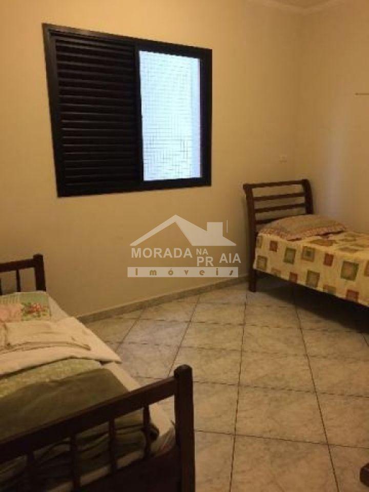 Dormitório 02 do apartamento com 3 dormitórios em CANTO DO FORTE - PRAIA GRANDE