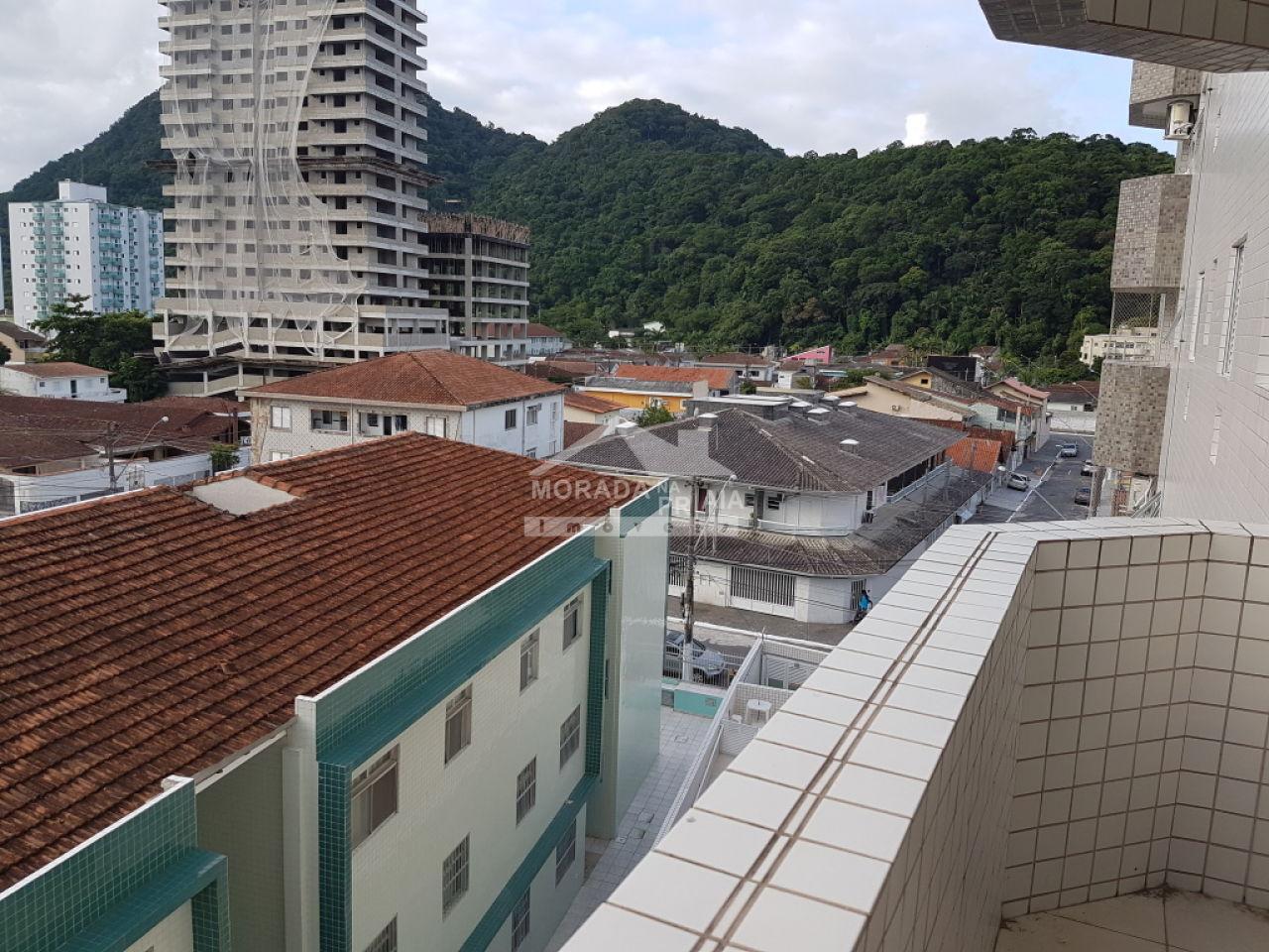 Vista do apartamento com 2 dormitórios em CANTO DO FORTE - PRAIA GRANDE