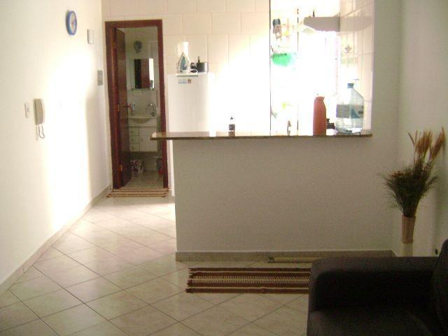Sala ang 03 do kitinet com 1 dormitórios em TUPI - PRAIA GRANDE