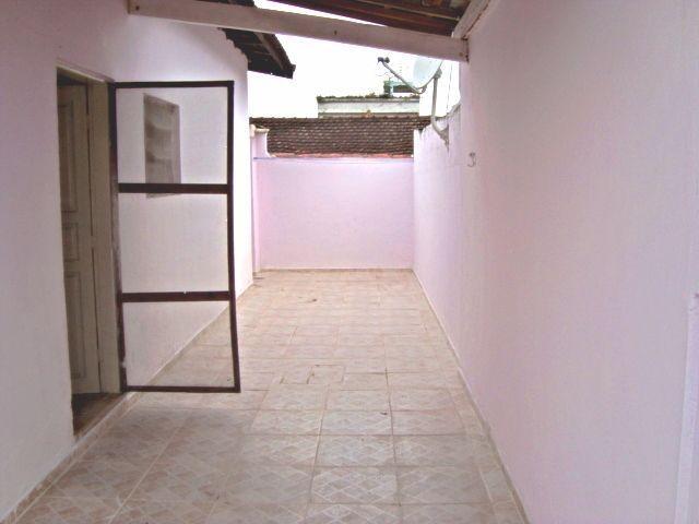 Garagem do casa geminada com 2 dormitórios em GUILHERMINA - PRAIA GRANDE