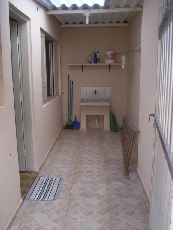 Área de Serviço do casa geminada com 2 dormitórios em GUILHERMINA - PRAIA GRANDE