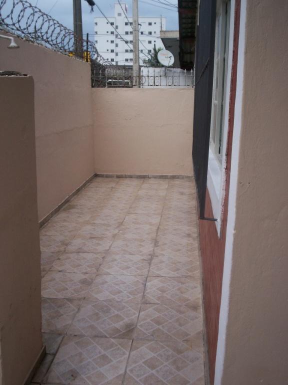 Frente do casa geminada com 2 dormitórios em GUILHERMINA - PRAIA GRANDE