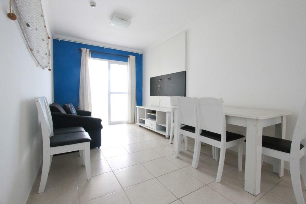 Sala do apartamento com 2 dormitórios em MIRIM - PRAIA GRANDE