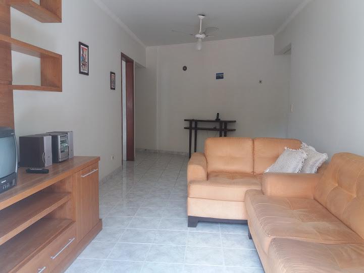 Sala ang 02 do apartamento com 2 dormitórios em TUPI - PRAIA GRANDE