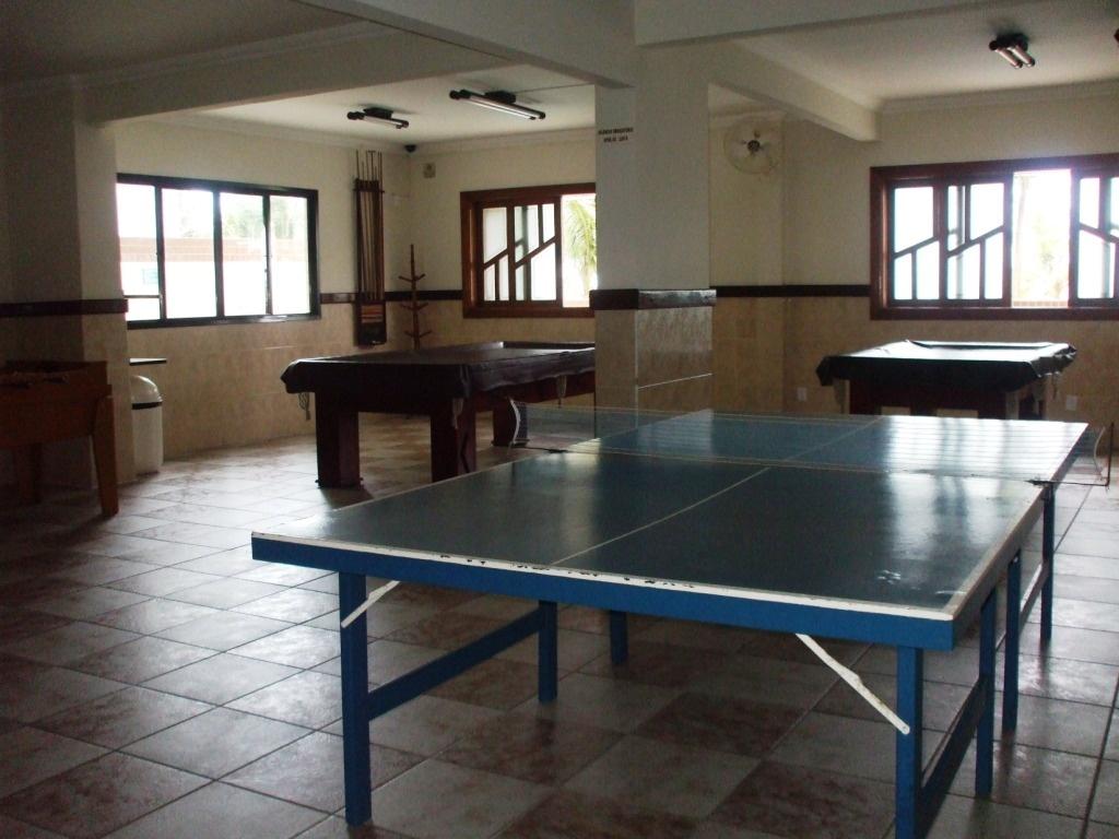 Salão de jogos do apartamento com 3 dormitórios em AVIAÇÃO - PRAIA GRANDE