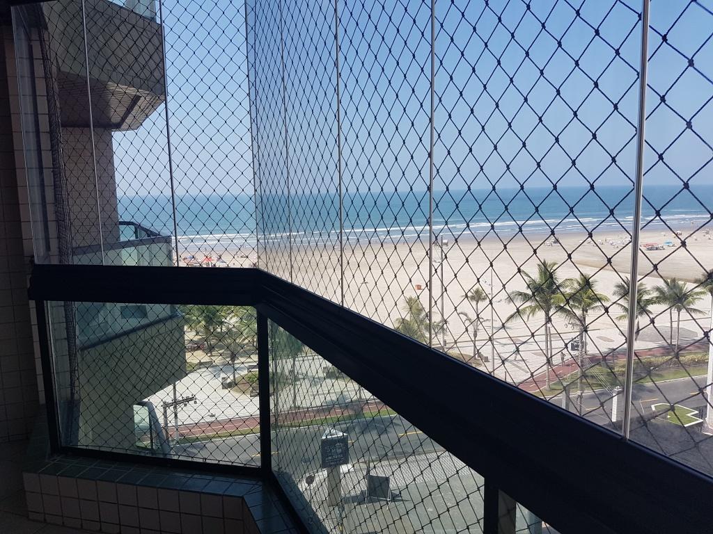 Vista do apartamento com 3 dormitórios em AVIAÇÃO - PRAIA GRANDE