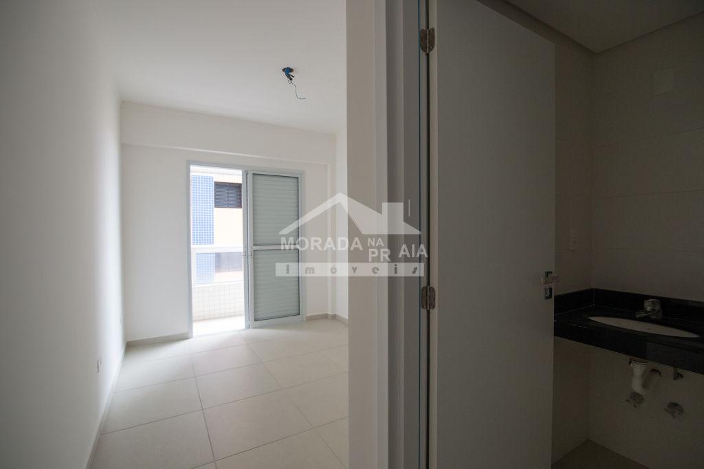 Fachada do apartamento com 3 dormitórios em AVIAÇÃO - PRAIA GRANDE