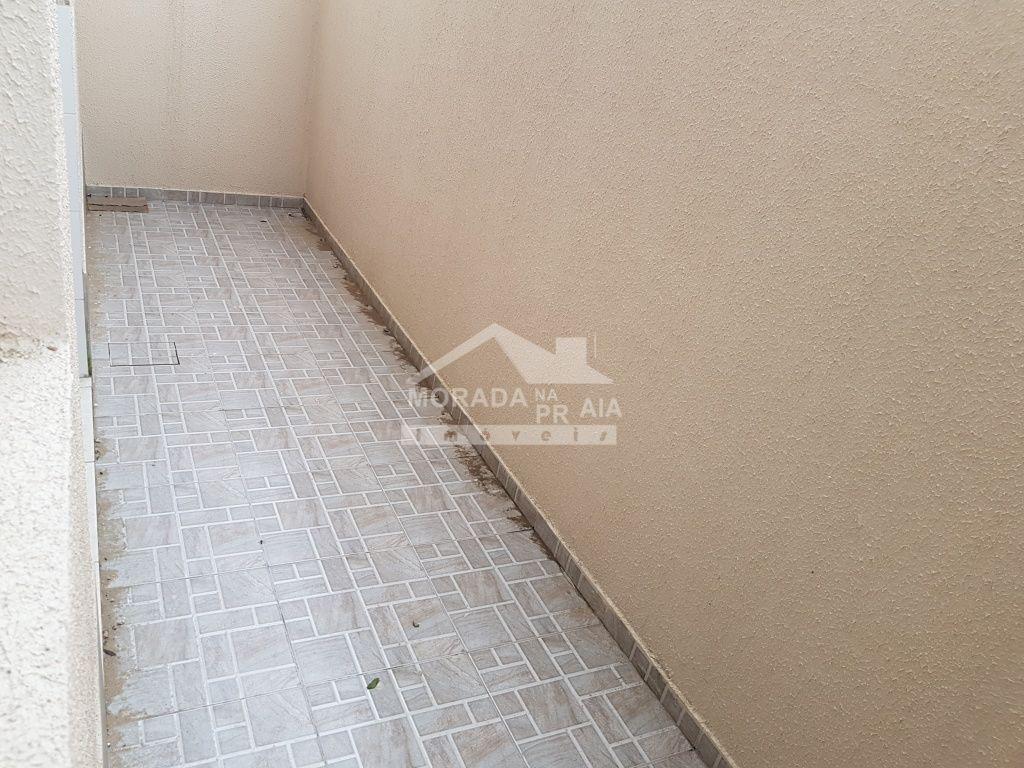 Corredor do condomínio fechado com 2 dormitórios em BALNEÁRIO ESMERALDA - PRAIA GRANDE