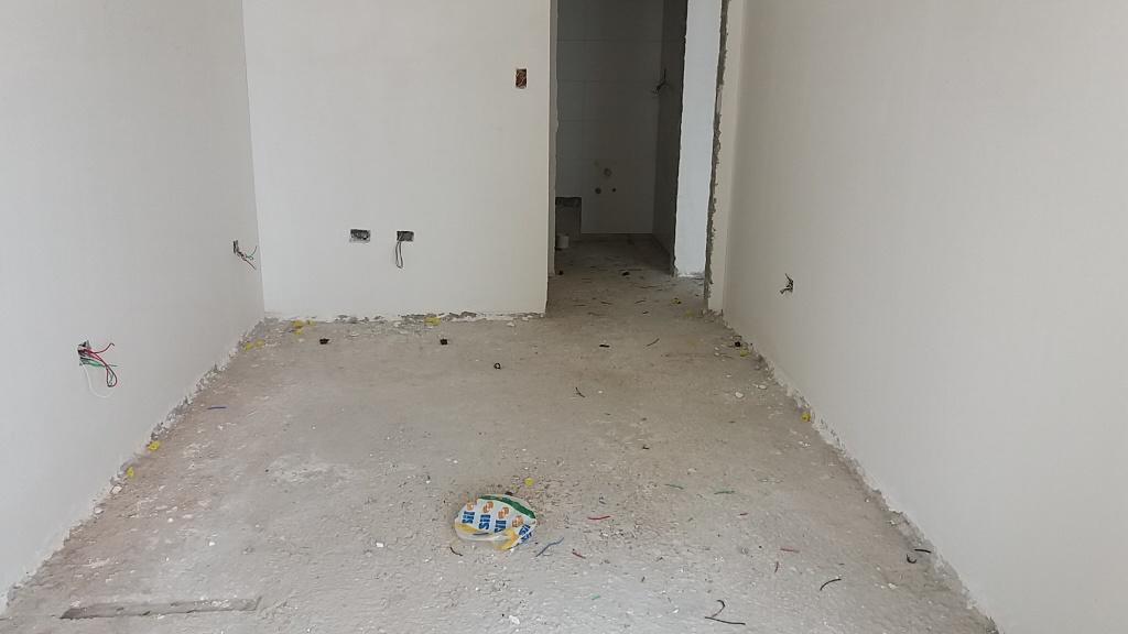 Dormitório do apartamento com 2 dormitórios em Campo da Aviação - Praia Grande