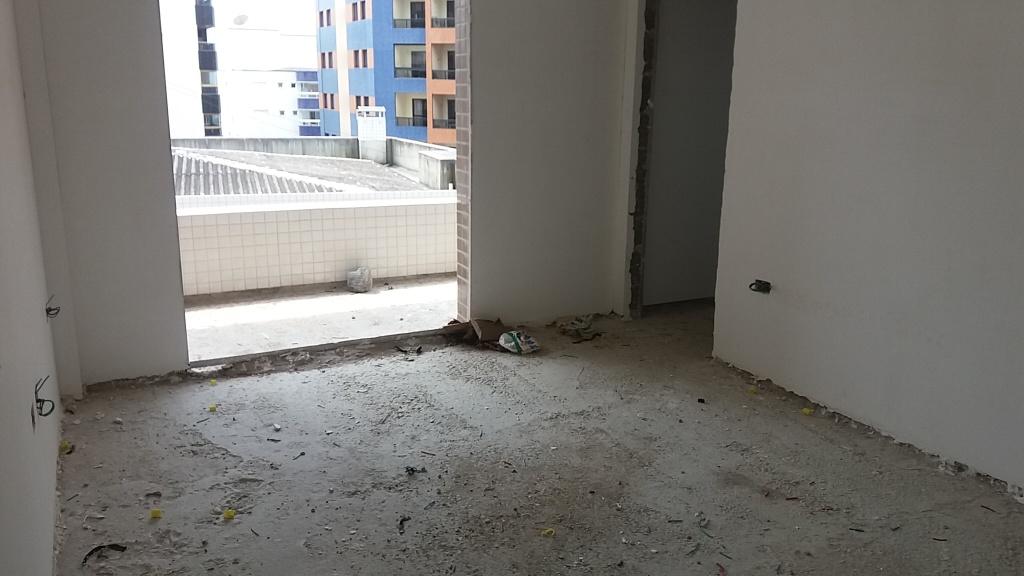 Dormitório do apartamento com 2 dormitórios em AVIAÇÃO - PRAIA GRANDE