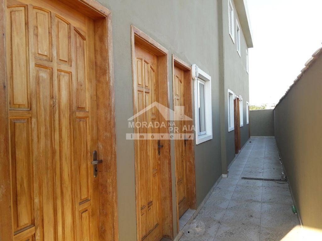 Corredor Externo do condomínio fechado com 2 dormitórios em BALNEÁRIO ESMERALDA - PRAIA GRANDE
